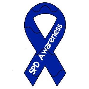 Sensory Processing Disorder Awareness Ribbon