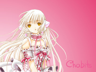 chobits wallpaper. Chii galaxy Chobits Wallpaper
