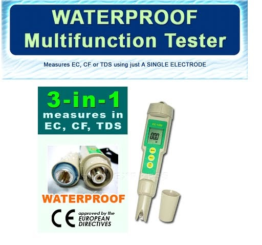 how to read ppm meter