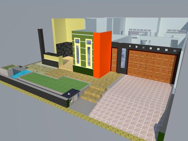 rumah idaman ide tips area teras halaman depan garasi
