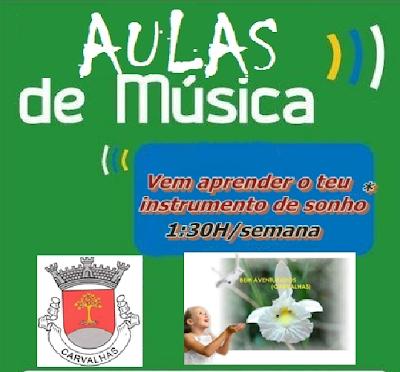 cartaz musica carvalhas