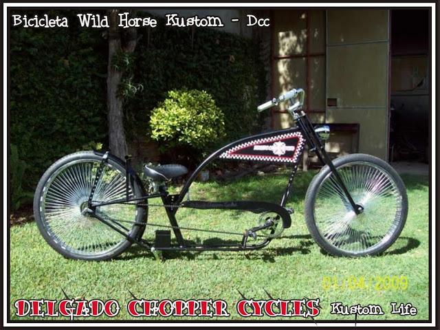 Bicicleta Wild Horse Kustom