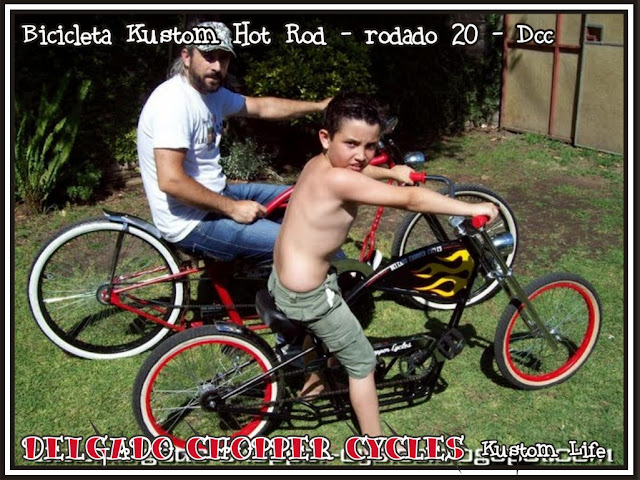 Bicicleta Kustom Hot Rod
