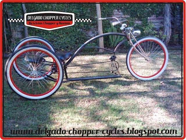 Triciclo Kustom Kruiser II (Adultos) para 2 personas