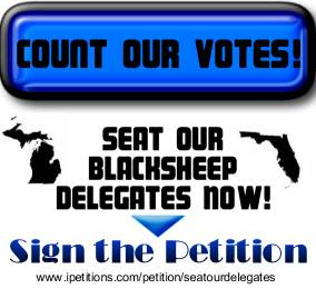 sign the Seat Our Delegates Petition