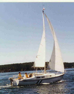 Bobbing And Sailing For Sale 1978 Neptune 24 Sailboat By Capital Yachts And Trailer 6500 SOLD