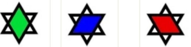 selo de salomão, estrela de davi, hexagrama dos judeus