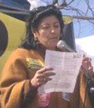 la pacifista Almudena Grandes hablando de fusilar