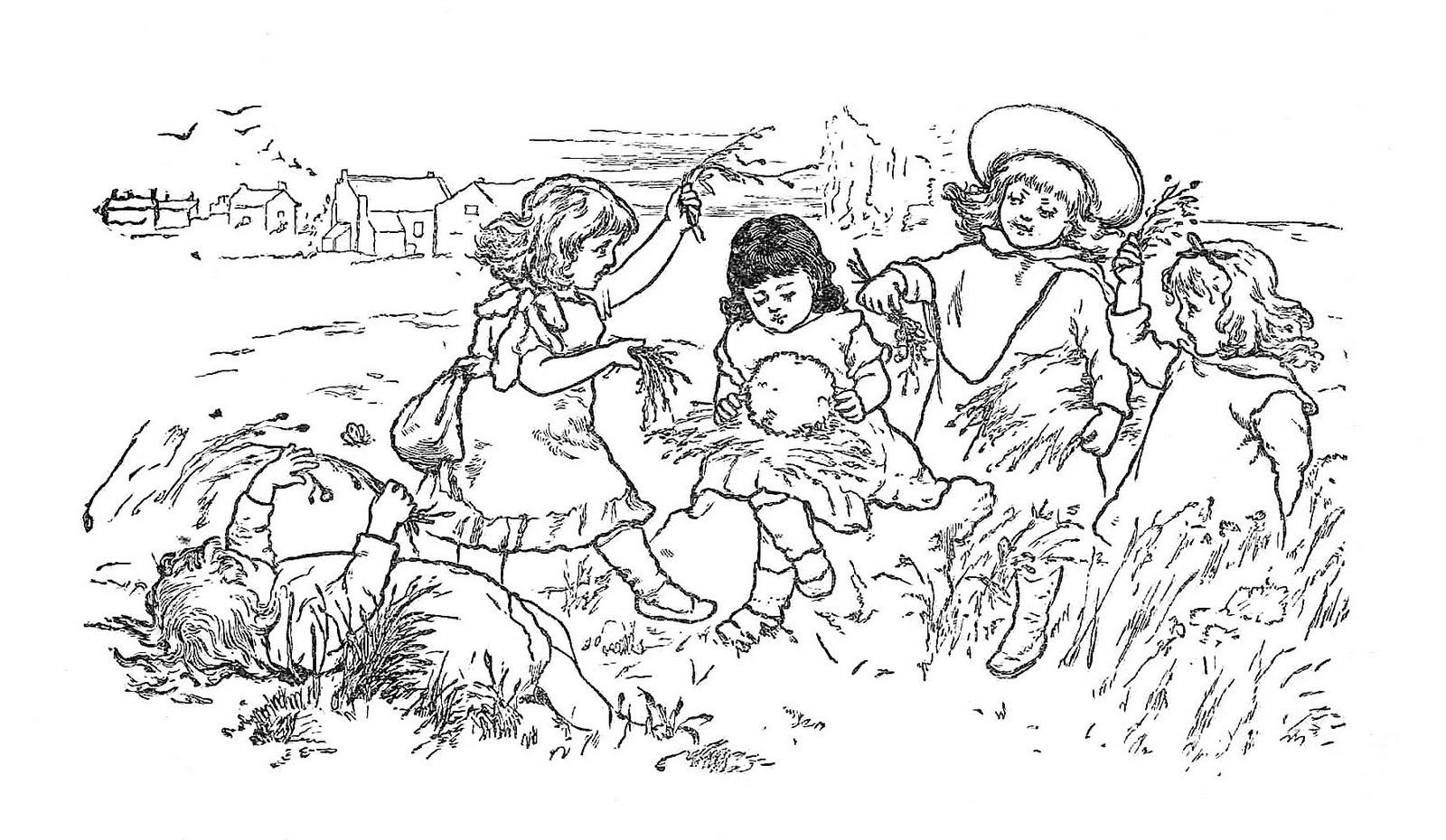 free black and white victorian clip art - photo #5