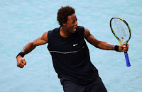 Black Tennis Pro's Gael Monfils Withdraws From Sydney International