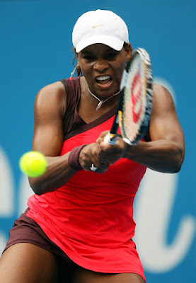 Black Tennis Pro's Serena Williams vs. Very Dushevina Sydney International