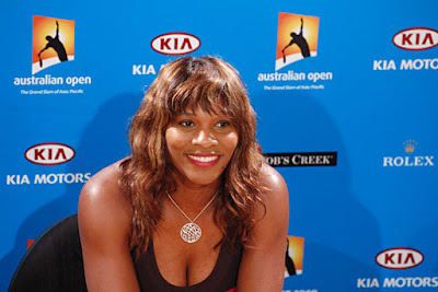Black Tennis Pro's Serena Williams Australian Open Sydney Interview