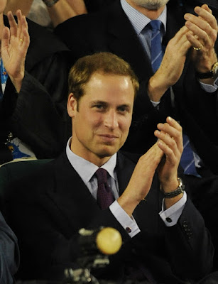 Black Tennis Pro's Prince William at the Australian Open
