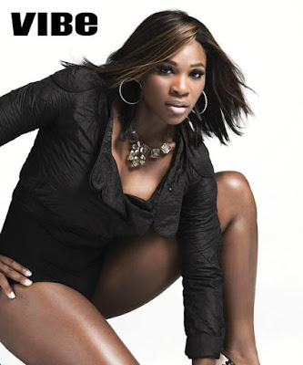 Black Tennis Pro's Serena Williams Vibe Magazine Superwoman Photo Shoot