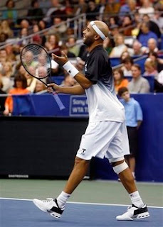 Black Tennis Pro's James Blake vs Andy Roddick Memphis Tennessee
