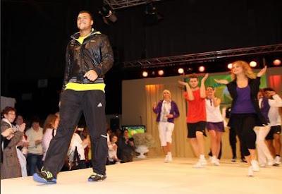 Black Tennis Pro's Jo-Wilfried Tsonga at 2010 ABN AMRO World Tennis Tournament