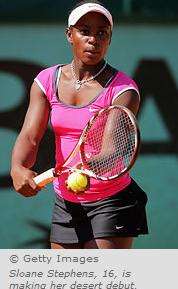 Black Tennis Pro's Sloane Stephens BNP Paribas Open Main Draw
