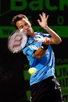 Black Tennis Pro's Jo-Wilfried Tsonga vs. Philipp Kohlschreiber 2010 Sony Ericsson Open