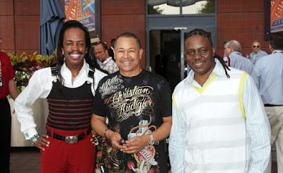 Black Tennis Pro's Earth Wind and Fire