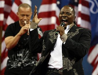 Black Tennis Pro's Earth, Wind and Fire