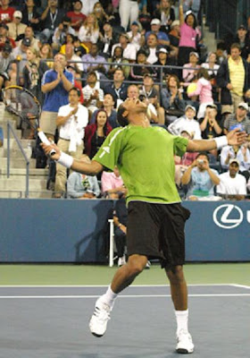 Black Tennis Pro's U.S. Open Jo-Wilfried Tsonga