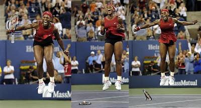 Black Tennis Pro's 2008 U.S. Open Women's Final