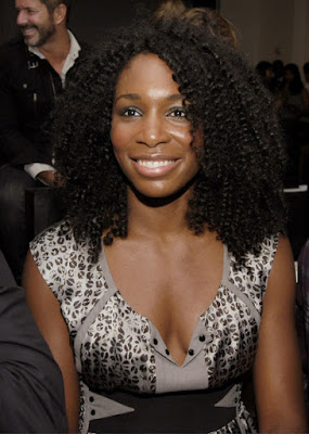 Black Tennis Pro's Venus Williams at Doo.ri Fashion Show