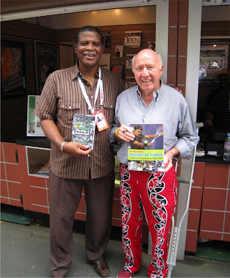 Black Tennis Pro's Bernard Chavis Book Signing