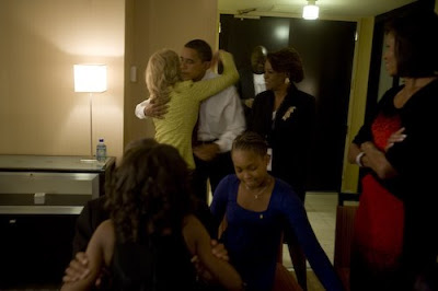 Black Tennis Pro's Obama Election Night Photos