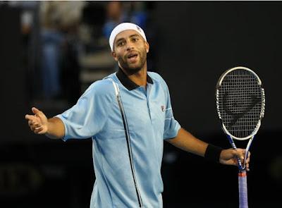 Black Tennis Pro's James Blake Australian Open