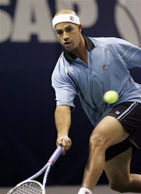 Black Tennis Pro's James Blake SAP Open