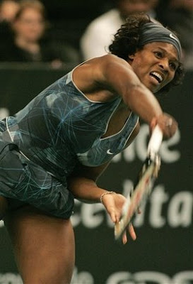 Black Tennis Pro's Serena Williams GDF Suez