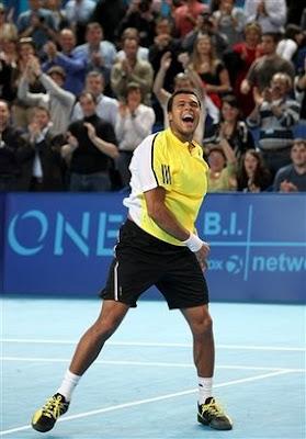 Black Tennis Pro's Jo-Wilfried Tsonga Open 13 Tournament