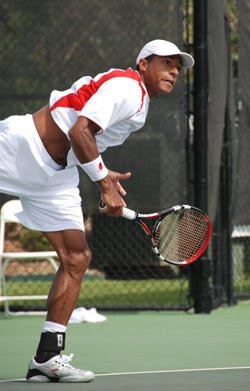 Black Tennis Pro's Nicholas Monroe Brownsville Men's Tournament