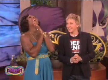 Black Tennis Pro's Serena Williams on Ellen