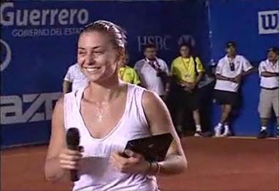 Black Tennis Pro's Flavia Pennetta Abierto Mexicano Tecel Final