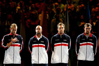 Black Tennis Pro's USA Davis Cup Team 2009 Davis Cup