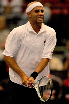 Black Tennis Pro's James Blake 2009 Davis Cup