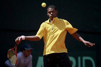 Black Tennis Pro's Devin Mullings 2009 Davis Cup