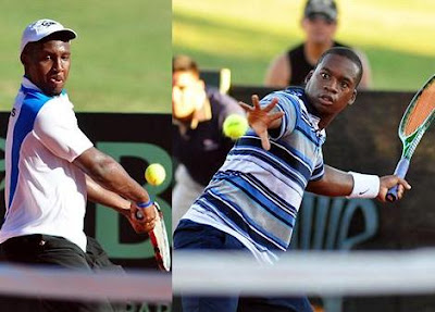 Black Tennis Pro's Timonthy Neilly and Devin Mullins 2009 Davis Cup