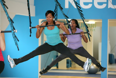 Black Tennis Pro's Regina King Reebok Jukari Fitness Program