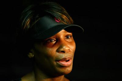 Black Tennis Pro's Venus Williams Sony Ericsson Open