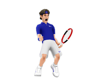 Black Tennis Pro's Roger Federer EA SPORTS Grand Slam Tennis
