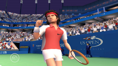 Black Tennis Pro's John McEnroe EA SPORTS Grand Slam Tennis