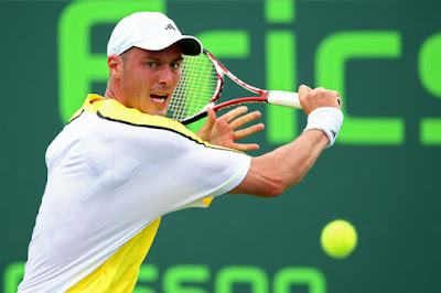 Black Tennis Pro's Marat Safin Sony Ericsson Open