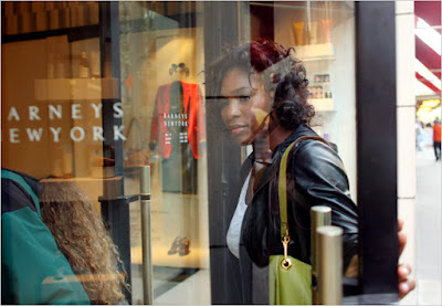 Black Tennis Pro's Serena Williams New York Times A Day Out