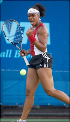 Black Tennis Pro's Angela Haynes Washington Kastles World Team Tennis