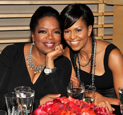 Black Tennis Pro's Oprah Winfrey and First Lady Michelle Obama Time100 Most Influential People
