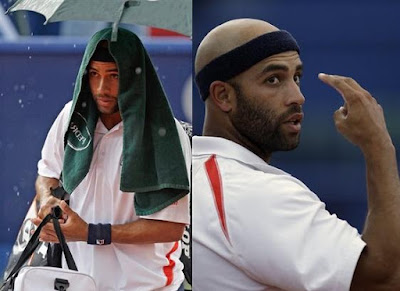 Black Tennis Pro's James Blake Estoril Open Semifinal
