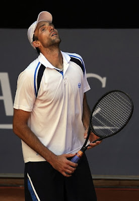 Black Tennis Pro's Ivo Karlovic Mutua Madrilena Madrid Open
